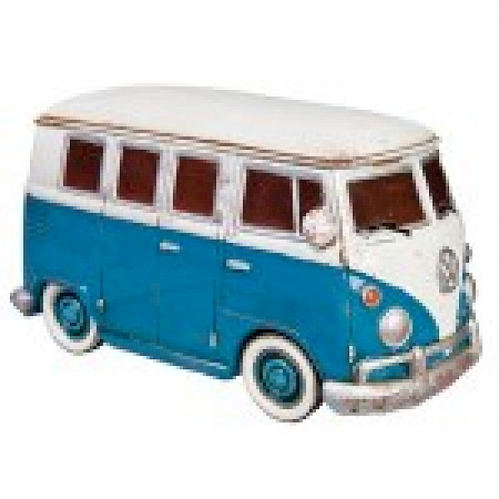 Blue VW combie night light
