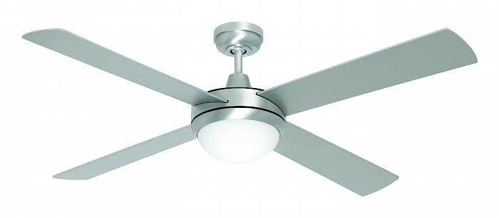 "52"" Ceiling Fan-2 light oyster 4 blade"