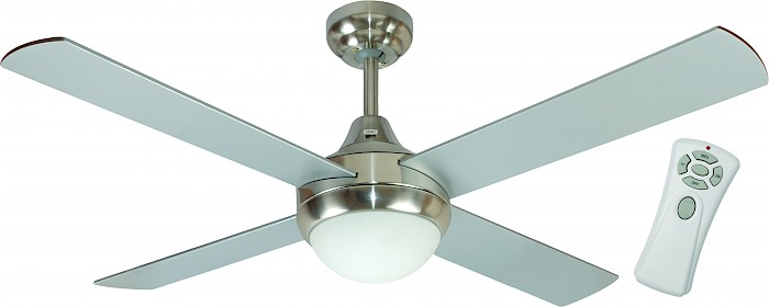 "48"" Ceiling Fan with light & remote 4 blade"