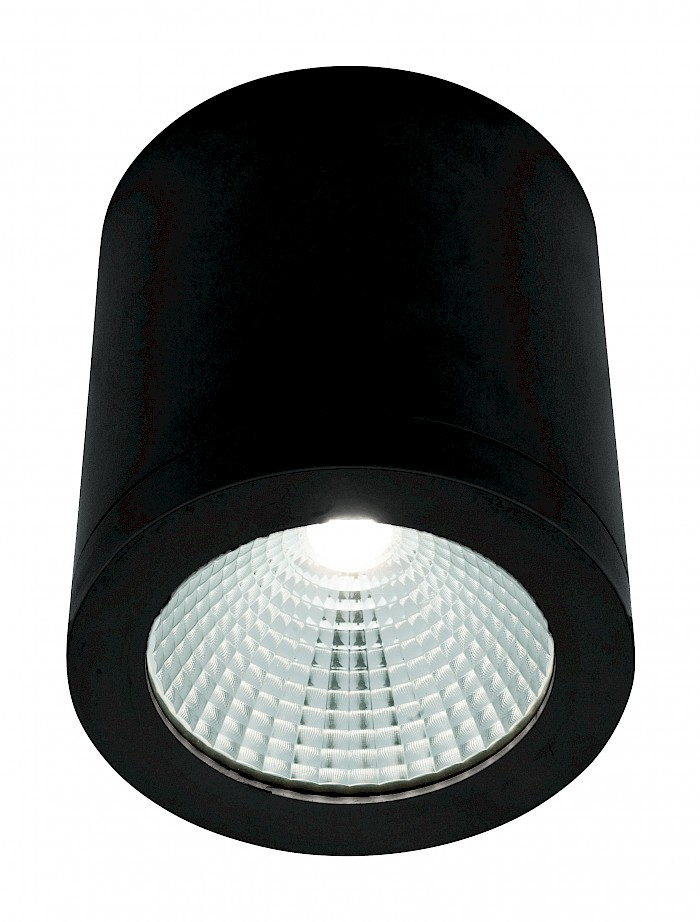 10w Surface mounted led black downlight