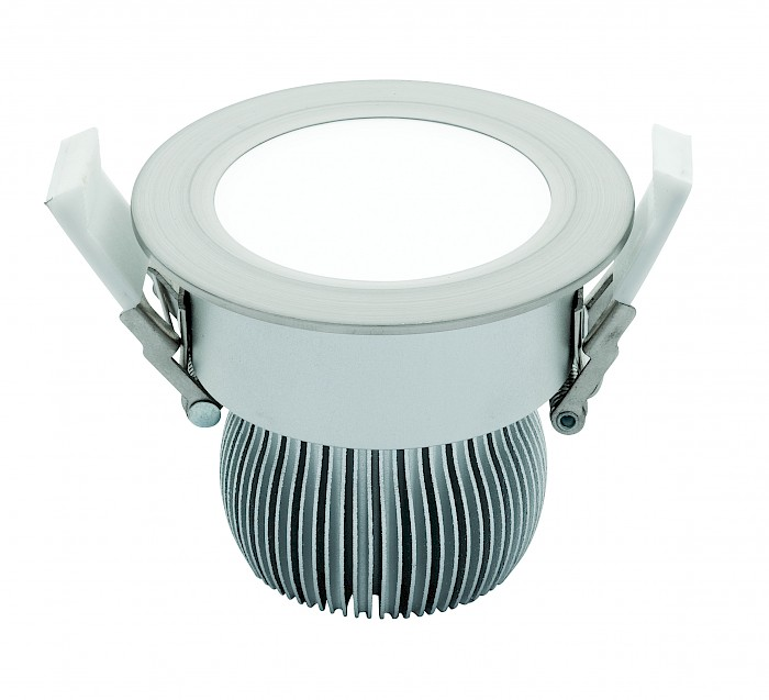 11w Led Brushed Chrome Downlight