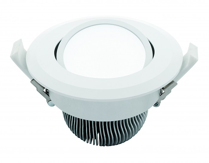 16w Led white gimble
