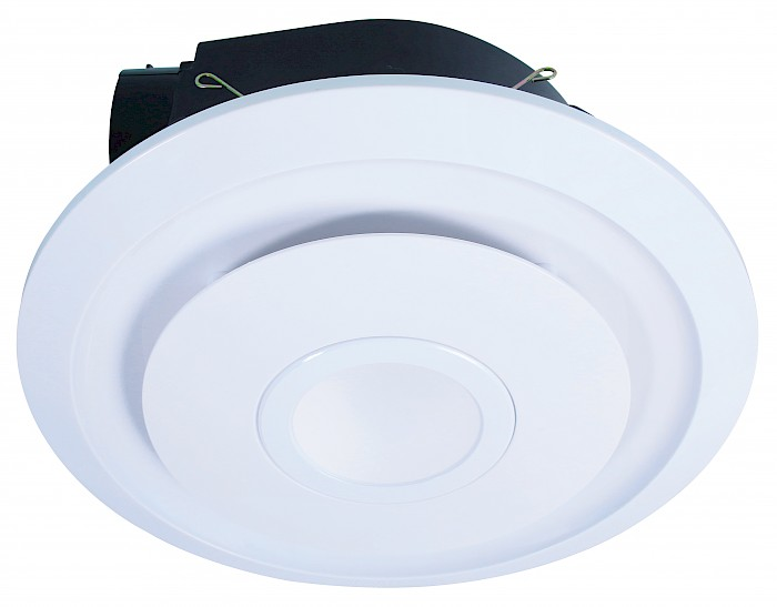 Round exhaust fan & 10w led light