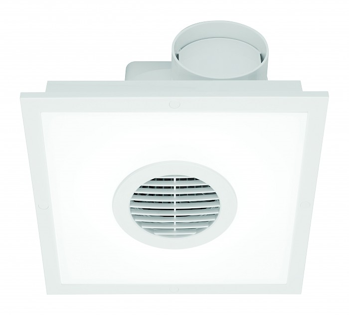 Square exhaust fan & 15w led light