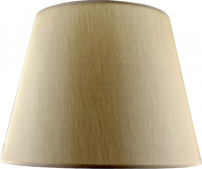 Large beige silk shade