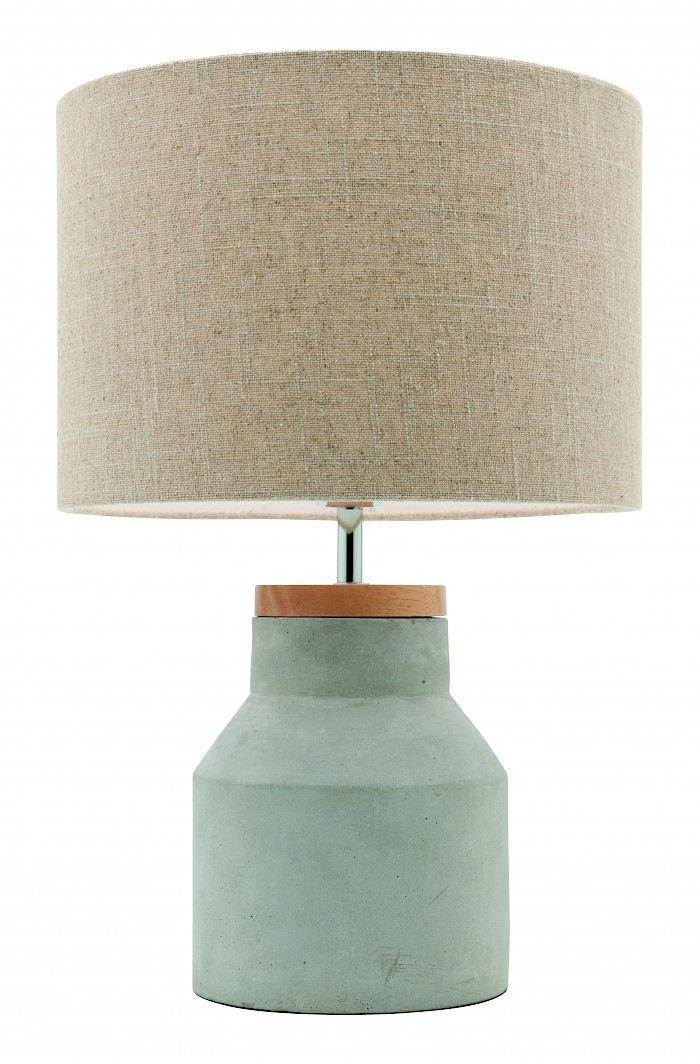 concrete base table lamp