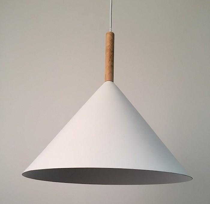 Cone metal pendant