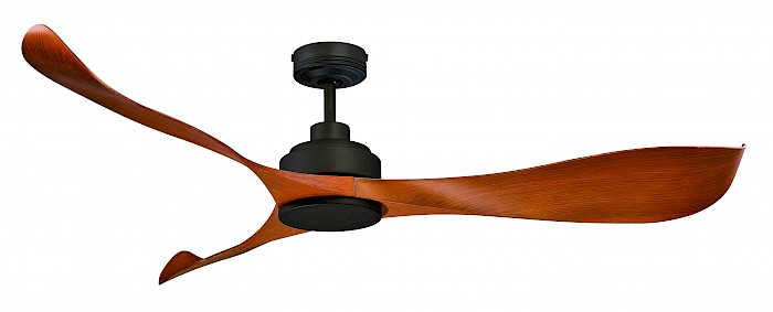 "66"" DC Modern wave 3 blade ceiling fan"