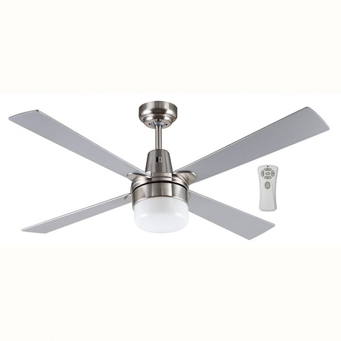 "48"" 4 Blade Timber Fan-Light-Remote"