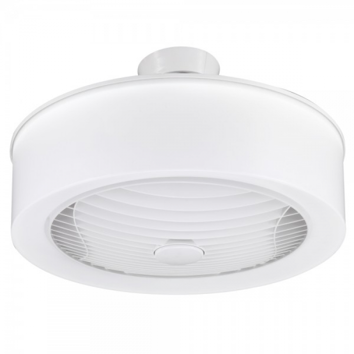 Enclosed Ceiling Fan with LED Light