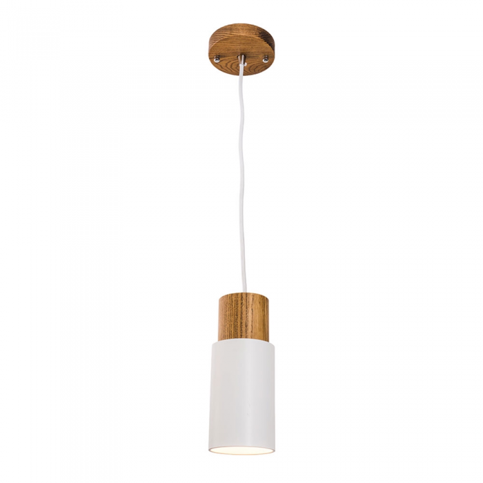 Metal & Timber 1 Light Pendant