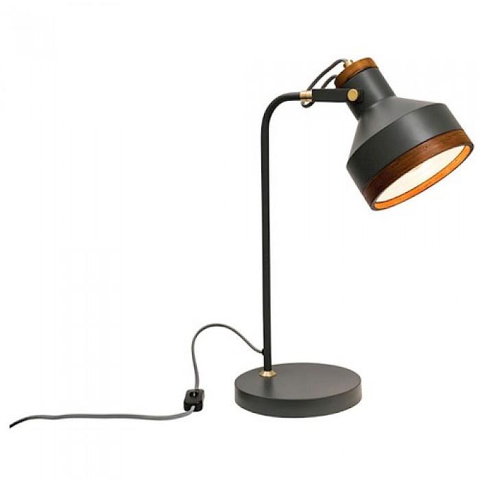 Metal/Timber Table Lamp