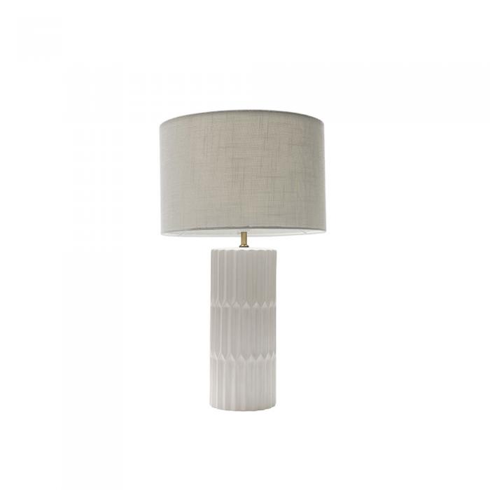 Matt White Ceramic Table Lamp