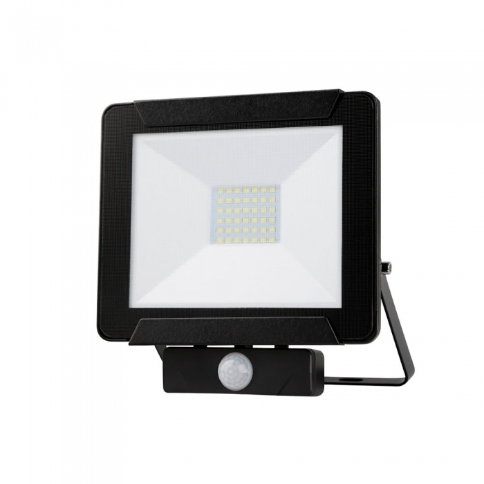 DIY Square LED Flood Light & Sensor