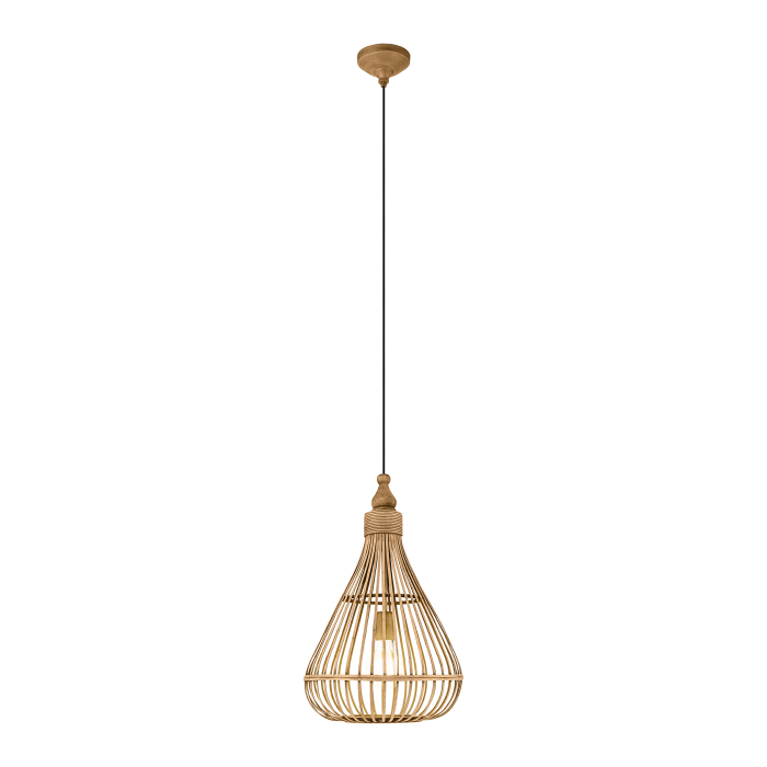 Timber Bell Pendant