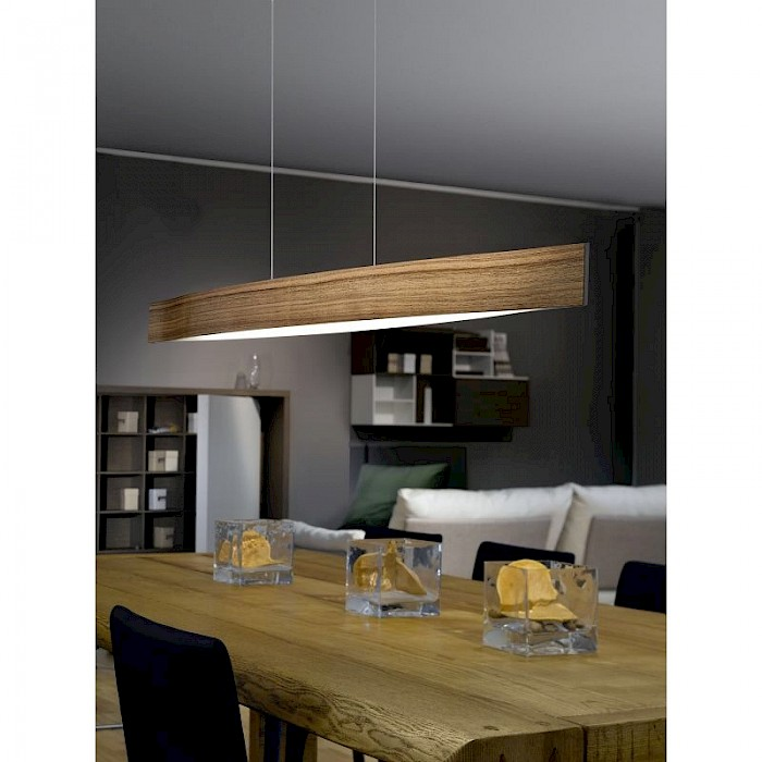 LED Timber Pendant