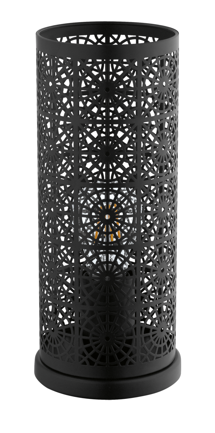 Black Lasercut Table Lamp