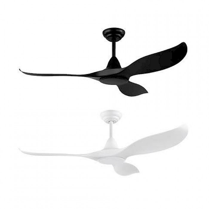 3 BLADE CURVED TIP CEILING FAN